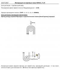 Инструкция на гонки №6-8