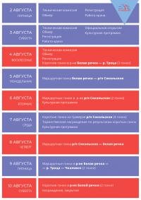 """Программа регаты """"Кубок Р.Е.Алексеева"""""""