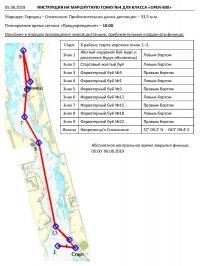 Инструкция на маршрутную гонку №4